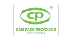 CAN PACK RECYCLING logo