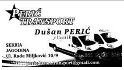A.P.R  PERIC TRANSPORT logo